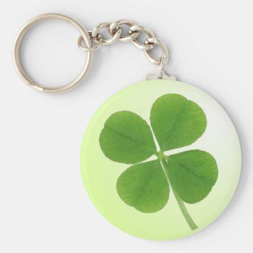 four leaf clover keychain