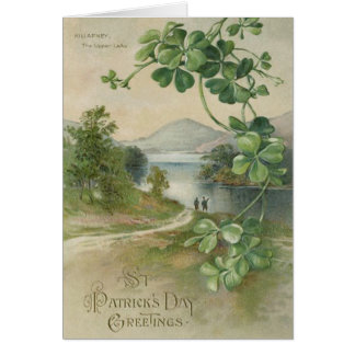 Four Leaf Clover Killarney Mountain Card