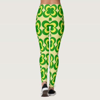 Four leaf clover leggings