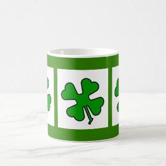 Four Leaf Clover (Lucky) Coffee Mug