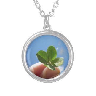 Four Leaf Clover Custom Necklace