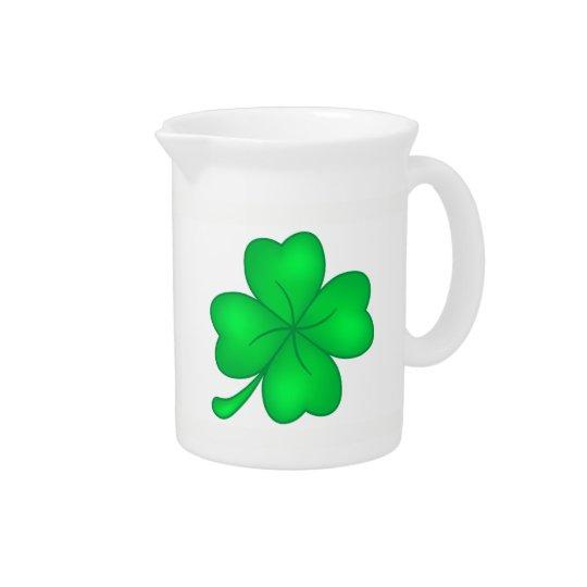 Four-leaf clover sheet pitcher