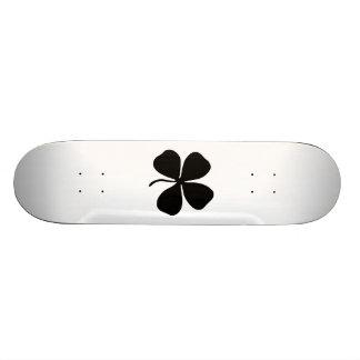 Four-Leaf Clover Skate Deck