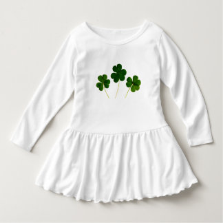 Four Leaf Clover St. Patrick's Day Toddler Dress