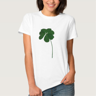 Four-leaved clover t-shirts