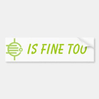Four Leaves Bumper Sticker