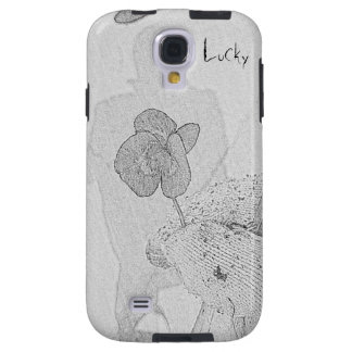 Four leaves clover galaxy s4 case