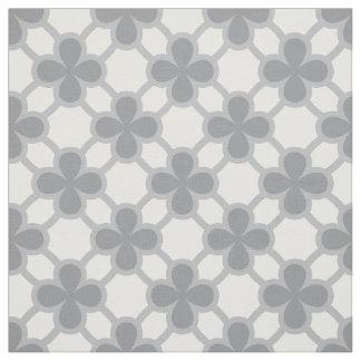 Four leaves clover geometric fabric