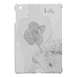 Four leaves clover case for the iPad mini