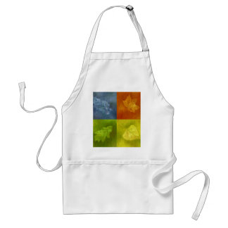Four Leaves for Four Seasons Aprons