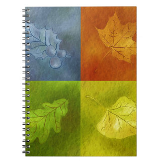 Four Leaves for Four Seasons Notebooks