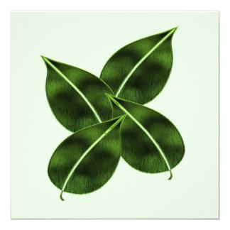 Four Leaves Invitation