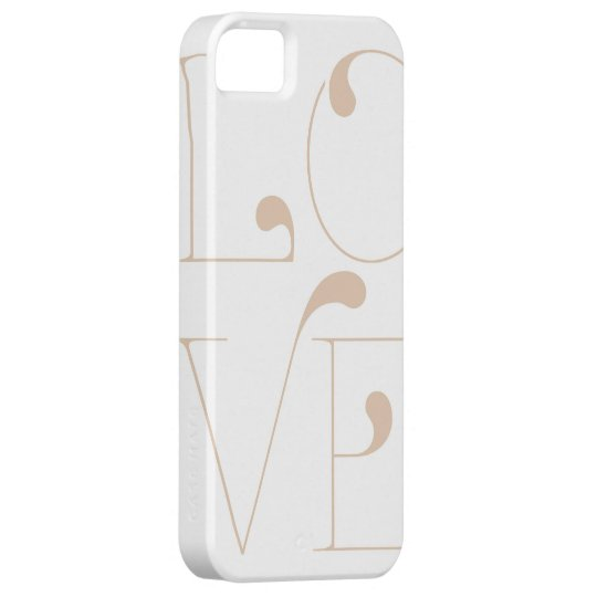 Four Letter Word Love iPhone 5s Case