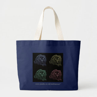 Four Lions on a Tote