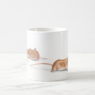 Four Mice Coffee Mug