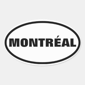 FOUR Montréal Oval Sticker