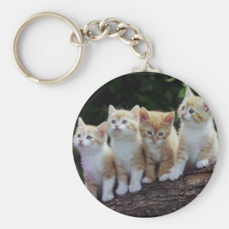 Four Of A Kind Basic Round Button Key Ring