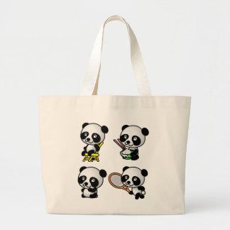 FOUR PANDAS bag - choose style & color