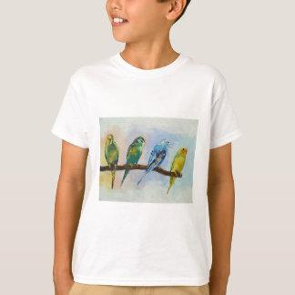 Four Parakeets T-Shirt