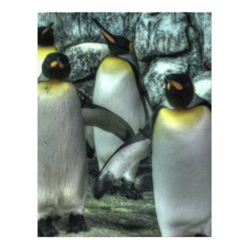 Four Penguins Custom Flyer