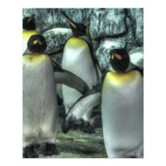 Four Penguins Full Color Flyer