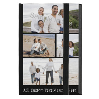 Four Photo Collage iPad Mini Cover
