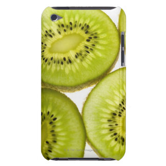 Four pieces of sliced kiwi iPod Case-Mate case