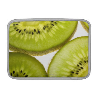 Four pieces of sliced kiwi sleeve for MacBook air