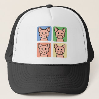 Four Pigs Trucker Hat