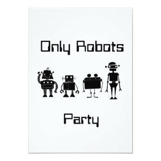 Four Robots Card
