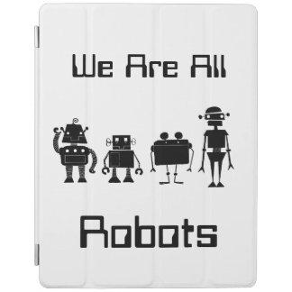 Four Robots iPad Cover