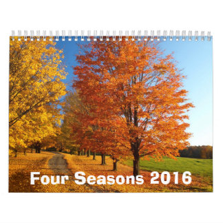 Four Seasons 2016 Calendar