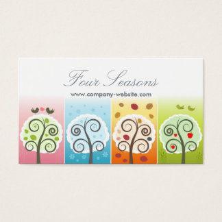 Four Seasons Business Card
