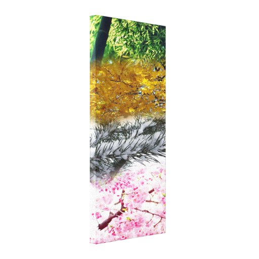Four Seasons Gallery Wrapped Canvas