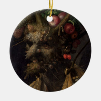 Four Seasons in the One Head, c.1590 2 Christmas Ornament