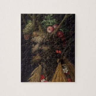 Four Seasons in the One Head, c.1590 2 Jigsaw Puzzle