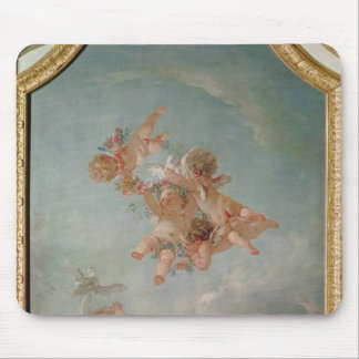 Four Seasons in the Salle du Conseil  - Spring Mouse Pad