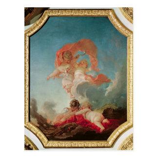 Four Seasons in the Salle du Conseil  - Summer Postcard