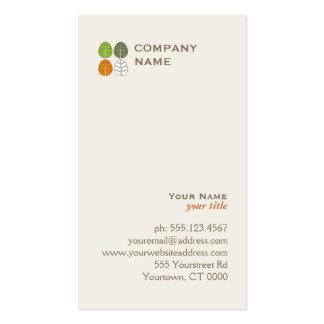 Four Seasons Logo Business Card