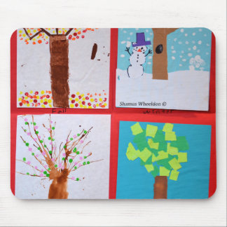 Four Seasons Mouse Pads