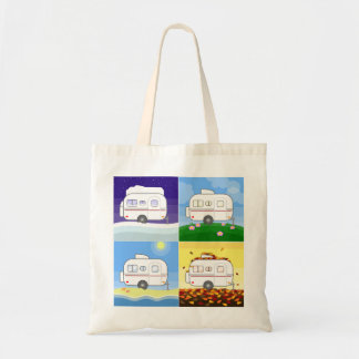 Four Seasons Scamp Tote Bag