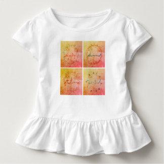 Four seasons toddler outfit toddler T-Shirt