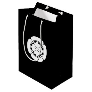 Four side Japanese quince Medium Gift Bag