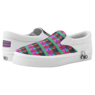 Four Slip-On Shoes