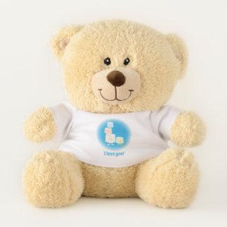 Four Smiling Marshmallows   Teddy Bear