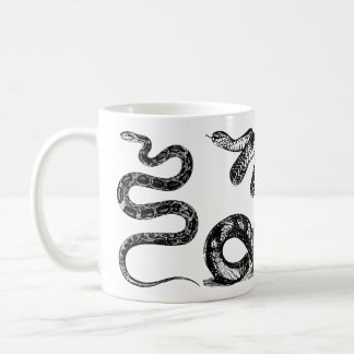 Four Snakes Graphic Coffee Mug