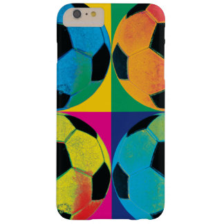 Four Soccer Balls in Different Colors Barely There iPhone 6 Plus Case