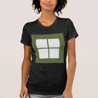 Four Squared Pocket Design + Text or Image T-Shirt
