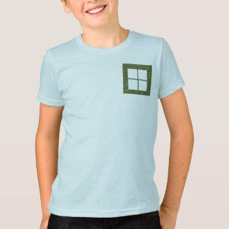 Four Squared Pocket Design + Text or Image Tshirt