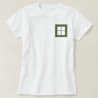 Four Squared Pocket Design + Text or Image Tshirts